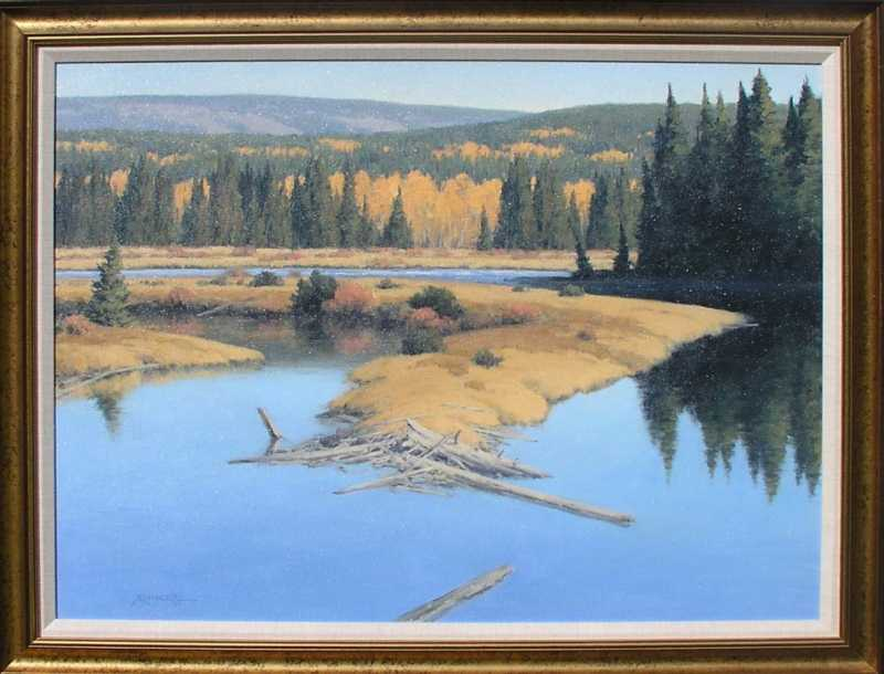 Fall At Moran Junction by  Michael Hadley - Masterpiece Online