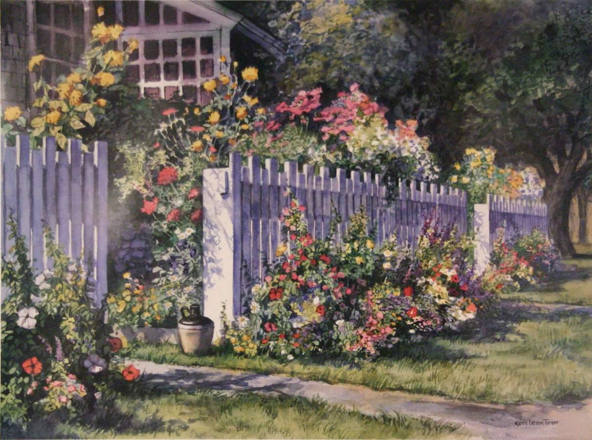 Summer's Gift by  Karen Larson Turner - Masterpiece Online