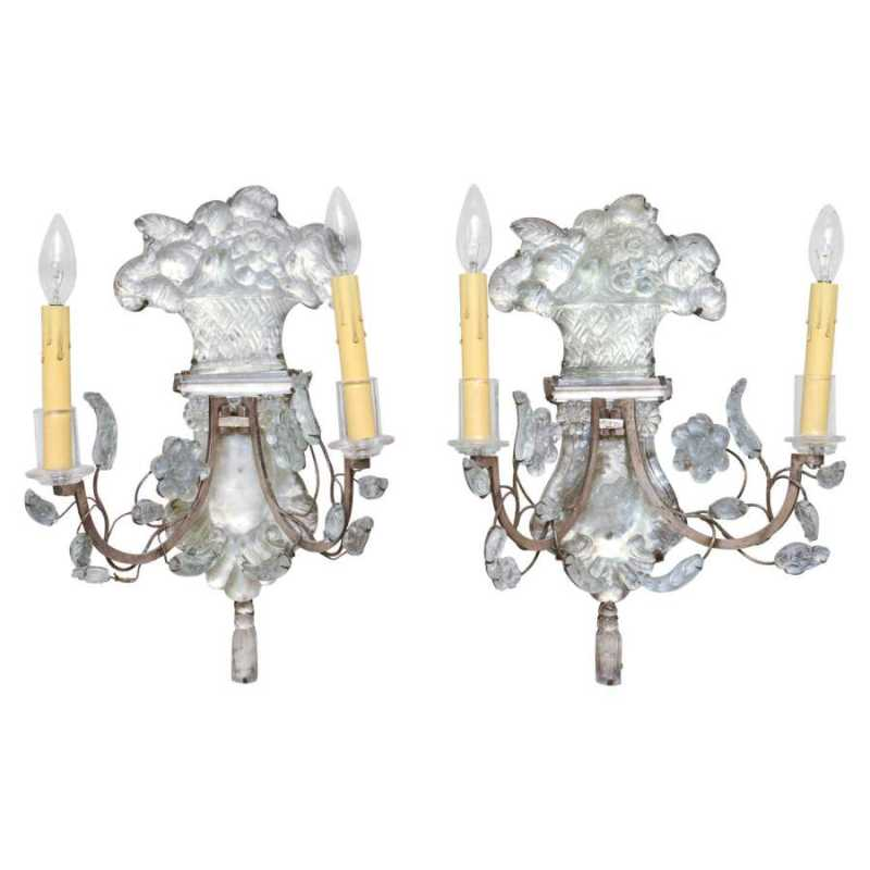 Pair of Bagues Sconces by  French  - Masterpiece Online
