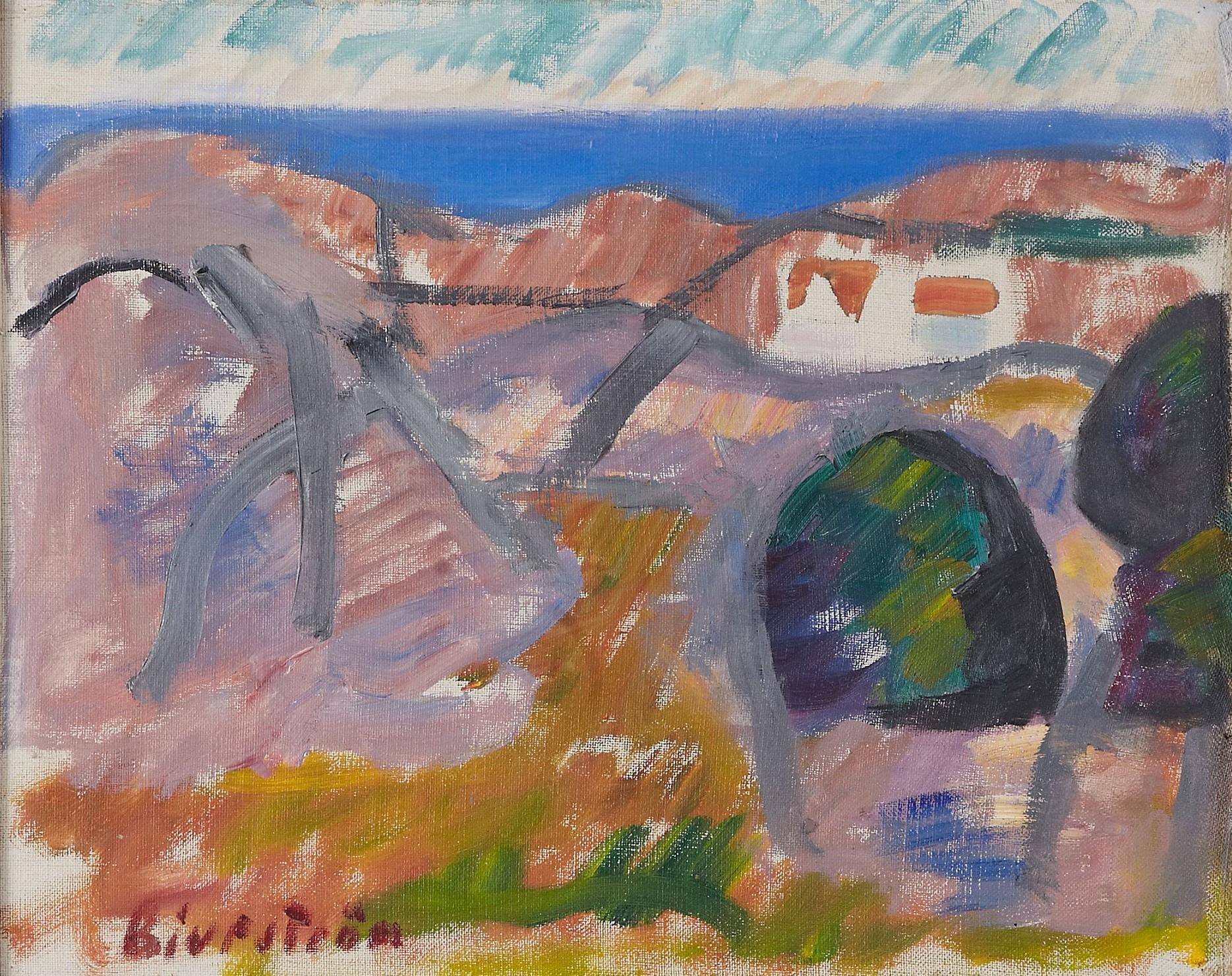 Bohuslän Coastline by  Tor Bjurström - Masterpiece Online