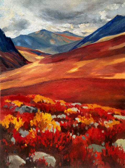 Red Tundra by  Dawn Banning - Masterpiece Online