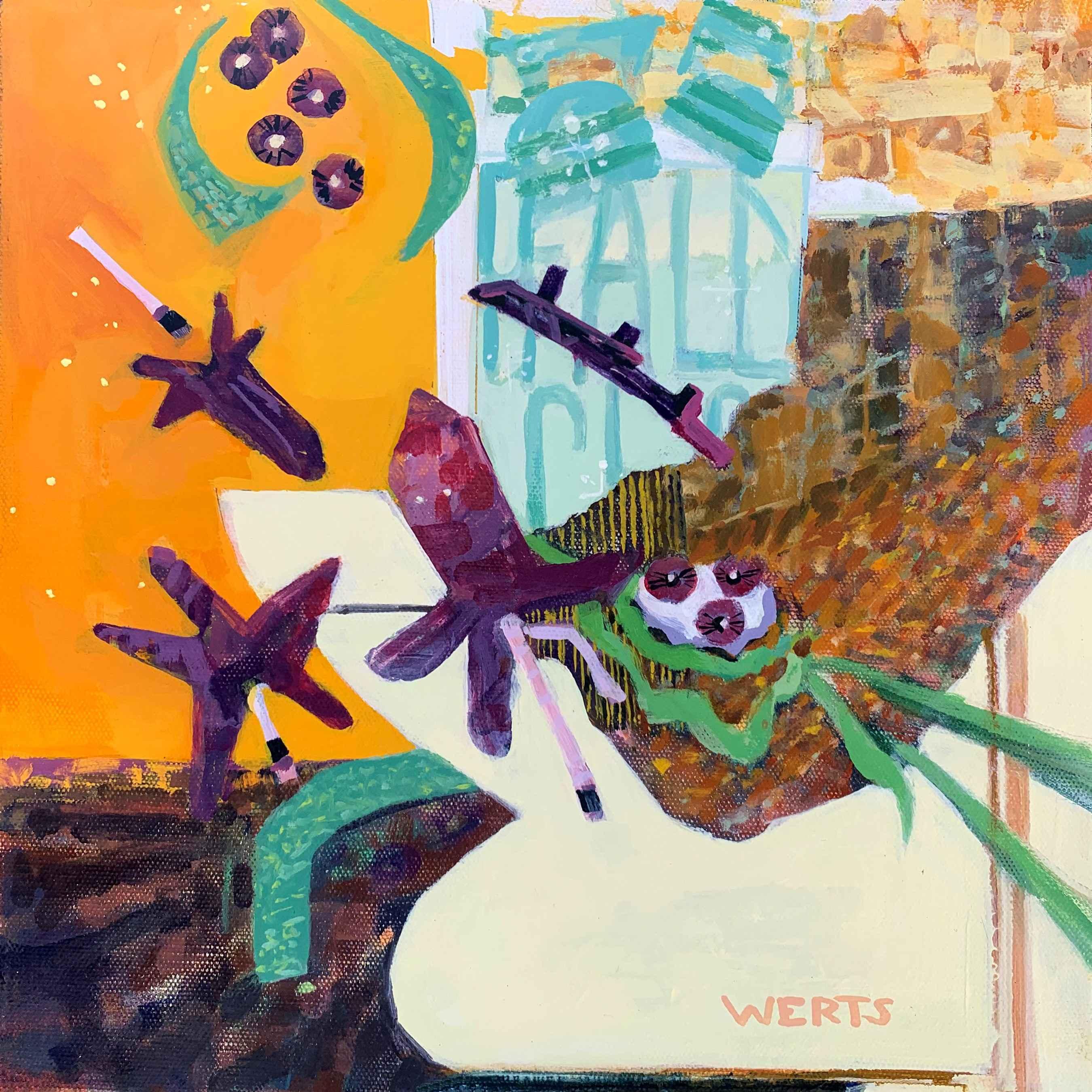 Cut Flowers: Blazing ... by  Diana Werts - Masterpiece Online