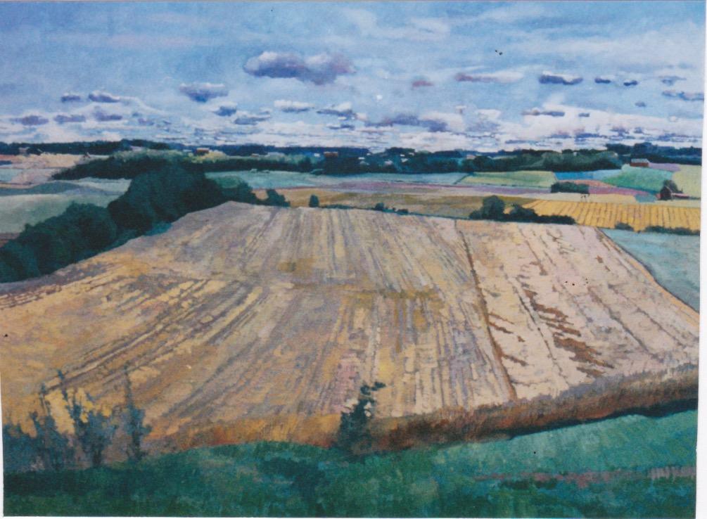 Farmlands by  Daud Akhriev - Masterpiece Online