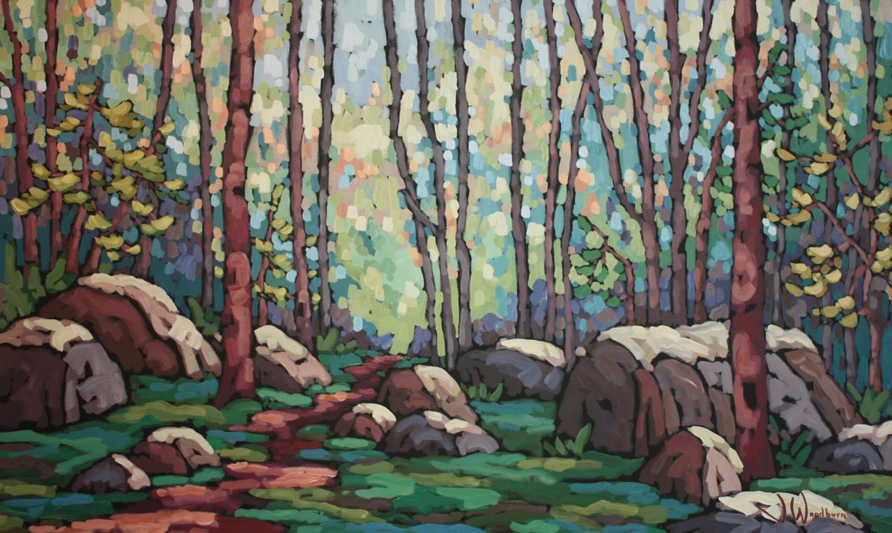 Path Through the Ston... by Ms Jennifer Woodburn - Masterpiece Online