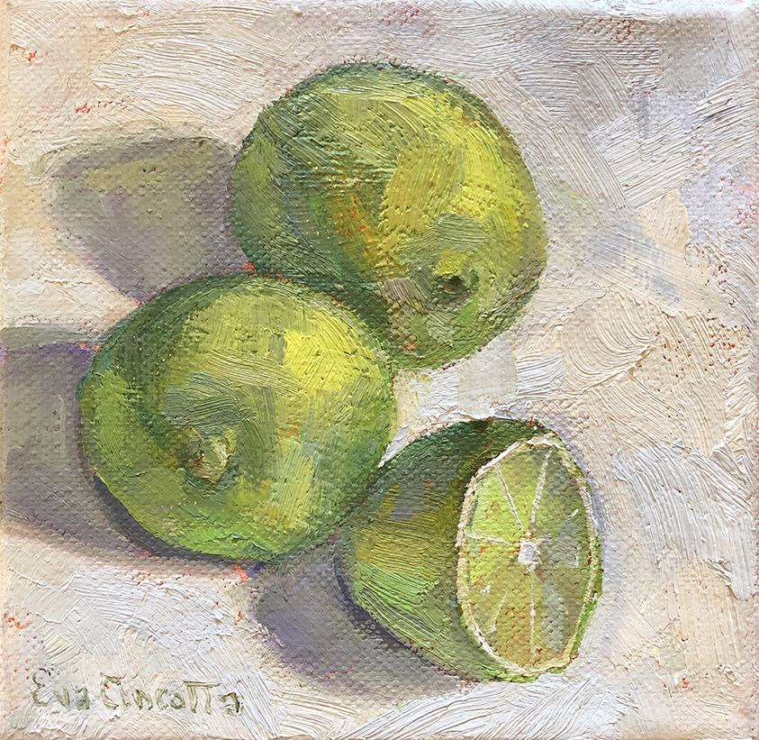 2 1/2 Limes by  Eva Cincotta - Masterpiece Online