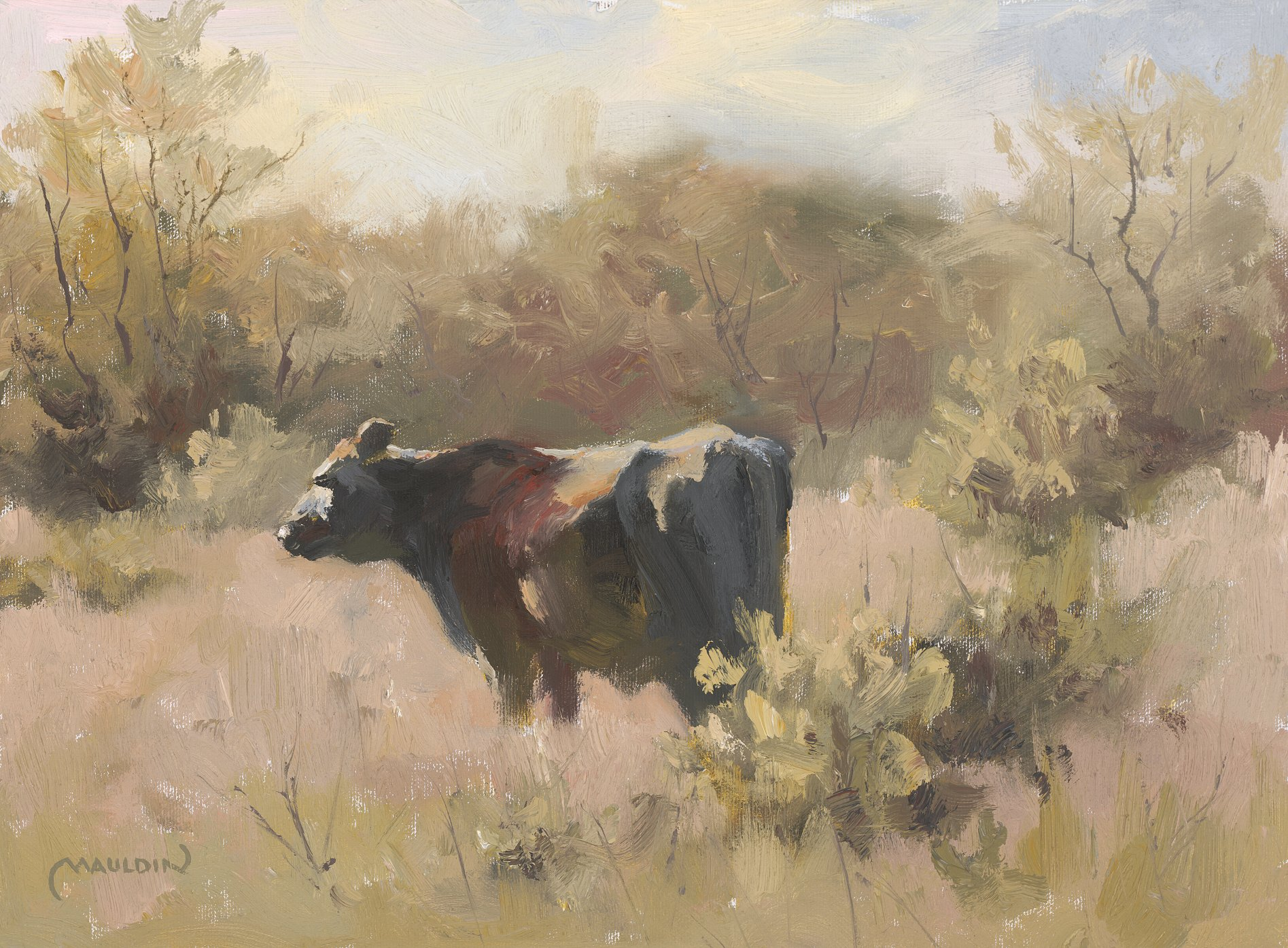 Spring is Near by  Chuck Mauldin - Masterpiece Online