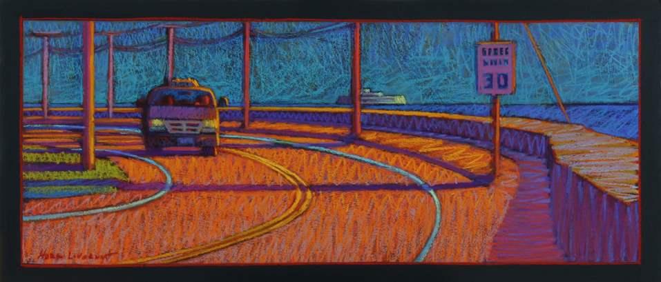 Taxi, Oak Bluffs by  Gigi Horr Liverant - Masterpiece Online