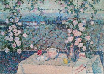 Afternoon Tea by  Jeanne Selmersheim-Desgrange - Masterpiece Online