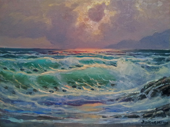 Asilomar Sunset by  A Dzigurski II - Masterpiece Online