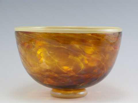 Bowl/Sm Safari Cream ... by  David & Melanie Leppla - Masterpiece Online