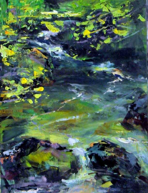 Skykomish Headwaters  by  Joe Mac Kechnie