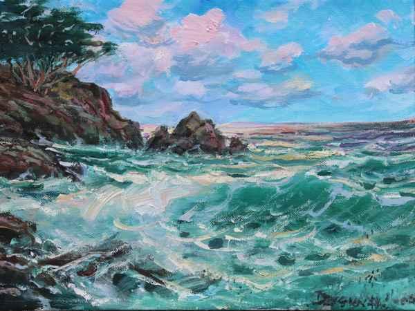 Scenic Drive, Carmel by  A Dzigurski II - Masterpiece Online