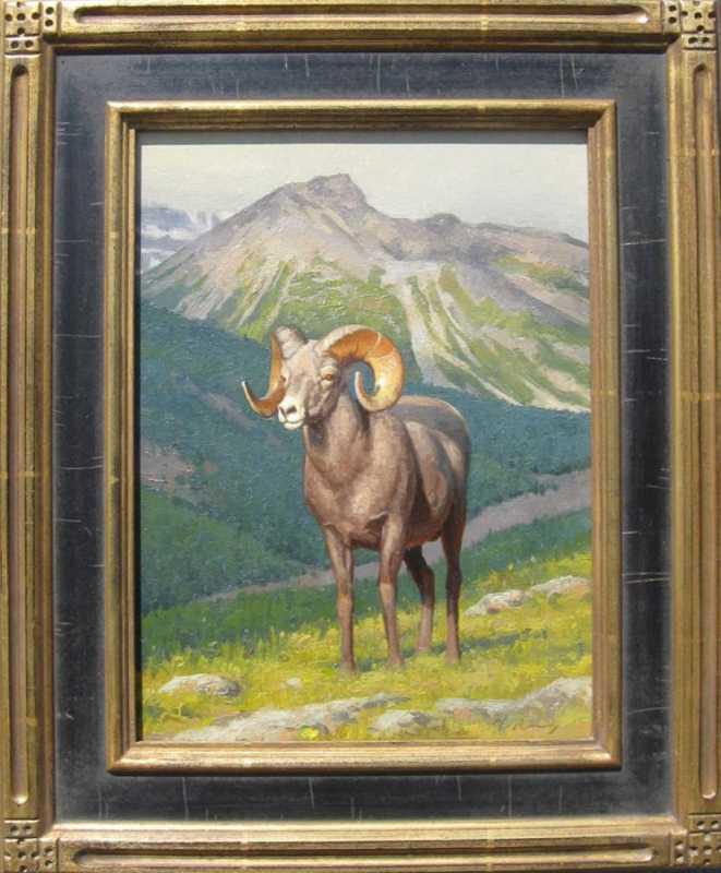 Bighorn Ram Study by  Michael Romney - Masterpiece Online