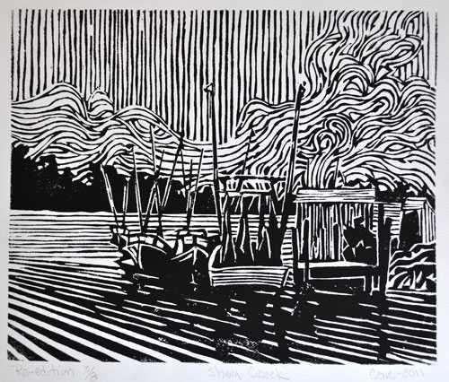 Shem Creek by  Joseph Cave - Masterpiece Online