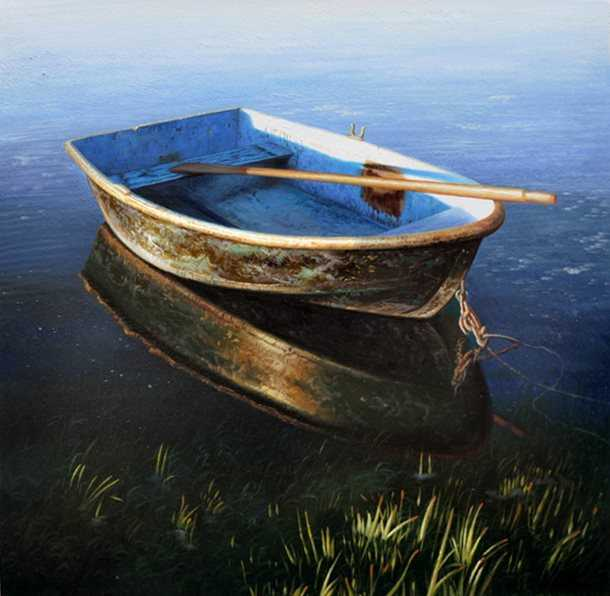 Black Boat by  Todd Bonita - Masterpiece Online