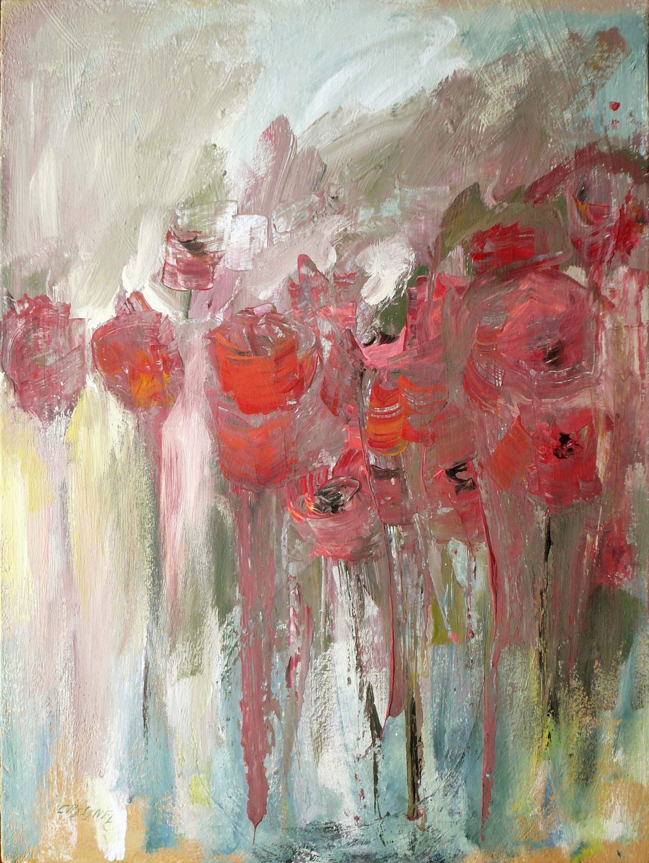 Les fleurs rouges by   CRISINEL - Masterpiece Online
