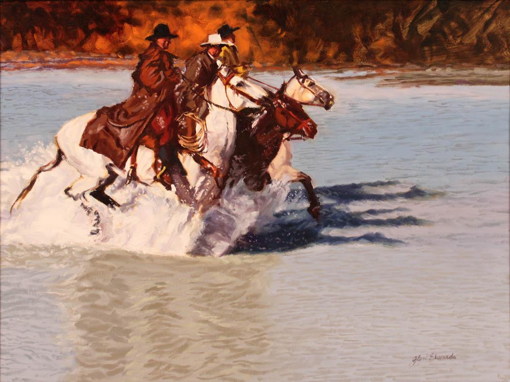 Racing Trio by  Glen Edwards - Masterpiece Online