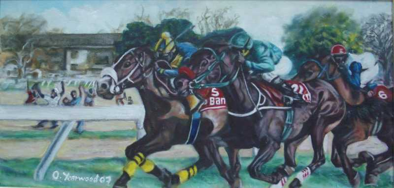 Horse Power by Mr Oneal Yearwood - Masterpiece Online