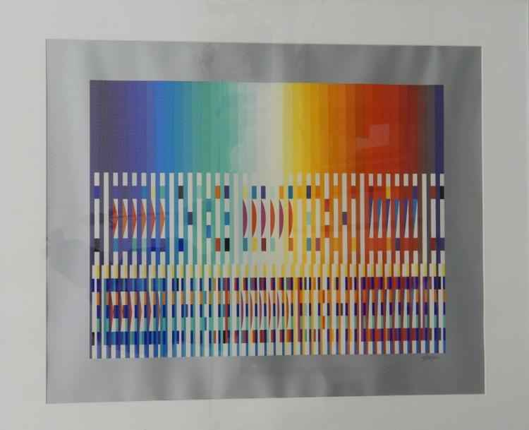 Agamograph by  Yaacov Agam - Masterpiece Online
