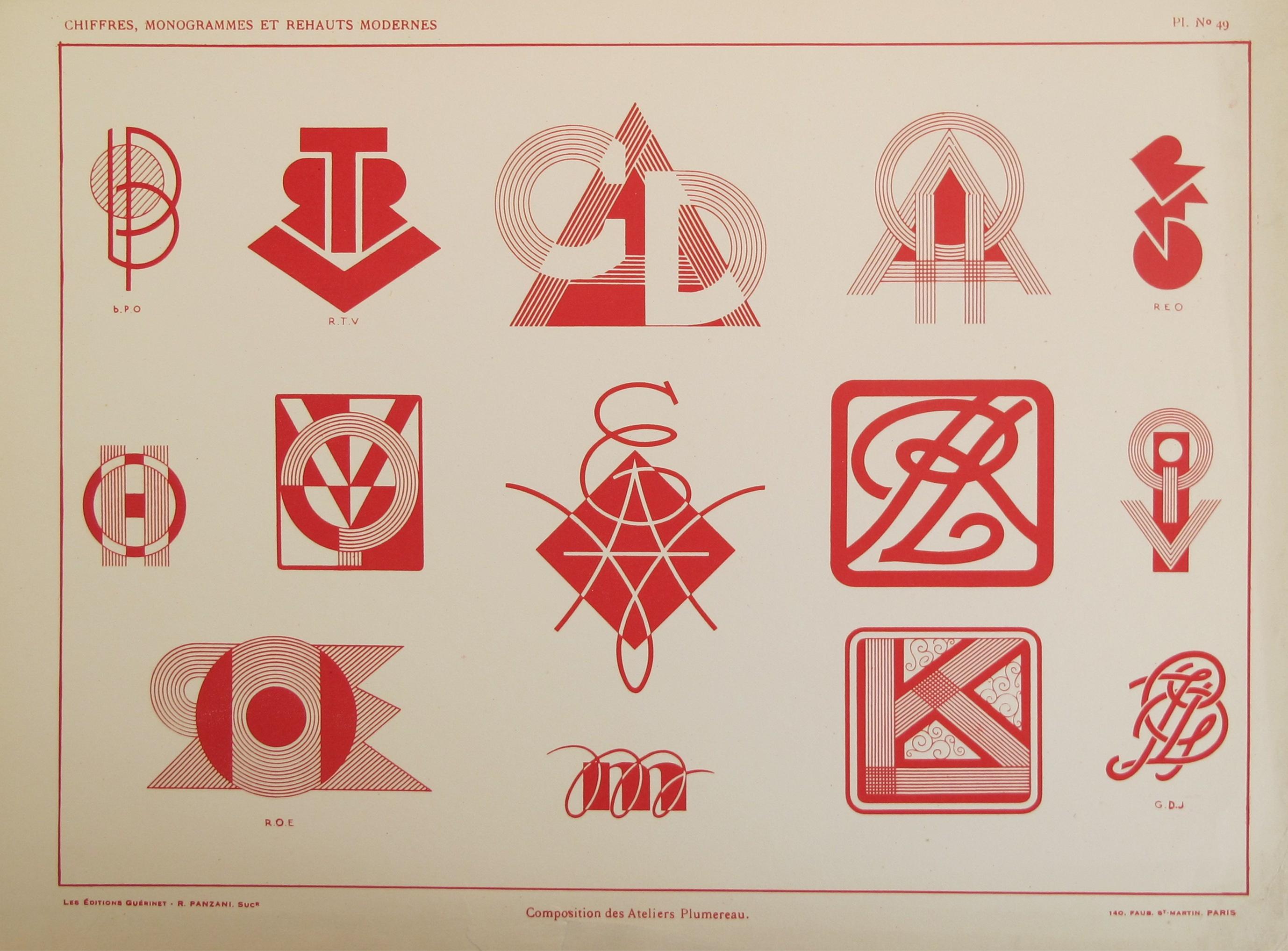 Typography - Vignette... by  Atelier Plumereau  - Masterpiece Online