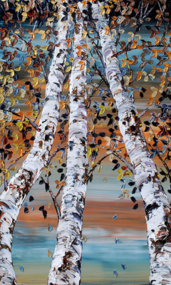 Looking Up  - Shades ... by  Maya Eventov - Masterpiece Online