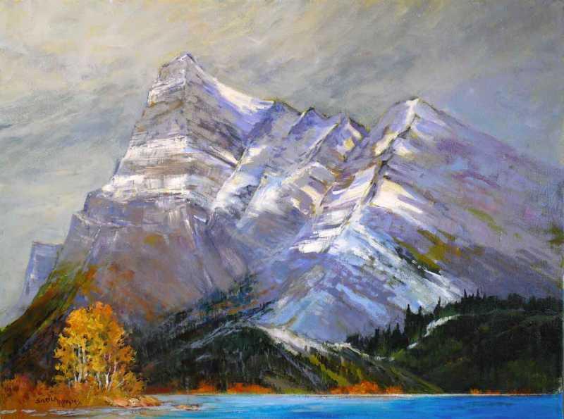 Mt. Vimy by  Sheila Adams - Masterpiece Online