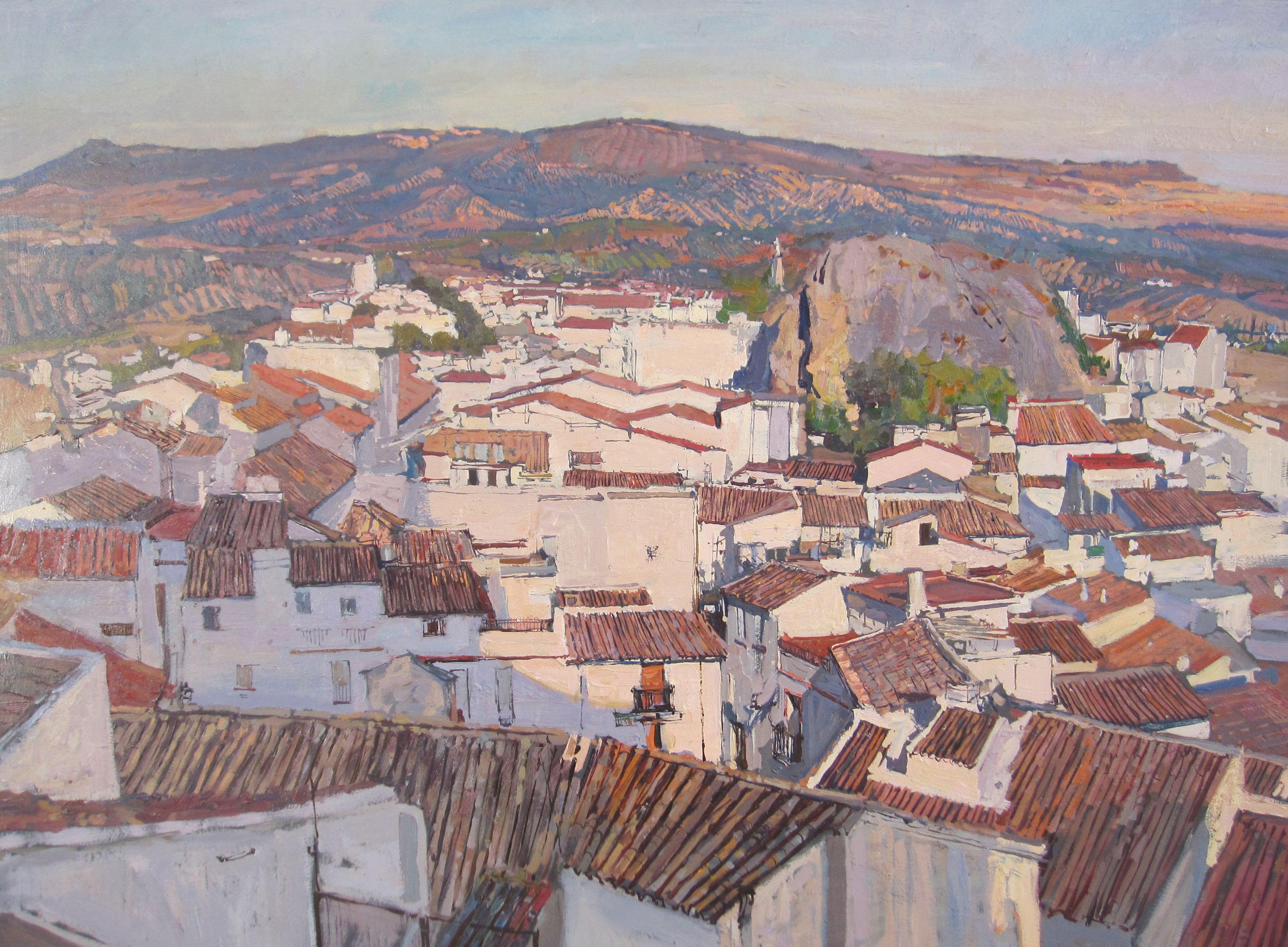 Andalusian Rooftops by  Daud Akhriev - Masterpiece Online