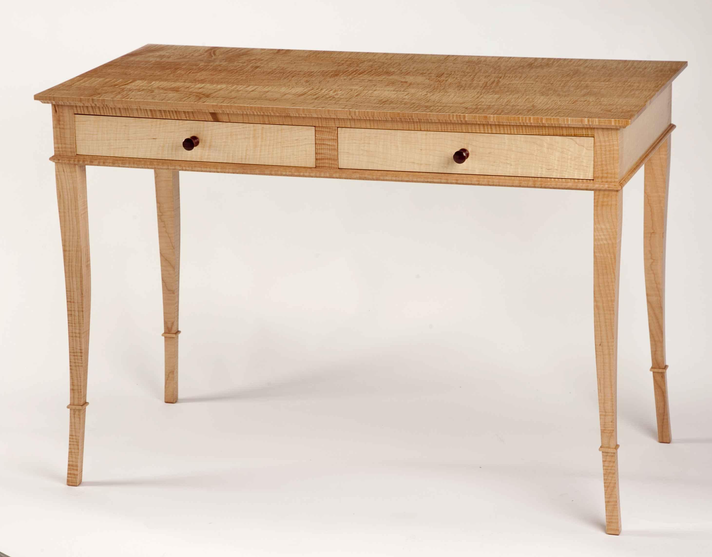 Curly Maple Desk by  Rex White - Masterpiece Online