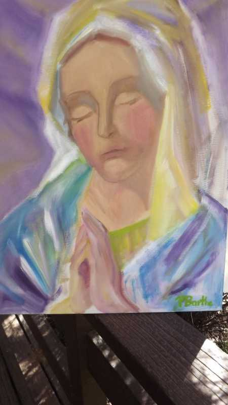 Mother of the Word by  Patricia Barthe - Masterpiece Online
