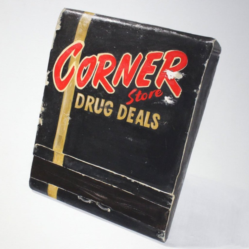 Corner Store Drug Deal by  Eric Clement - Masterpiece Online
