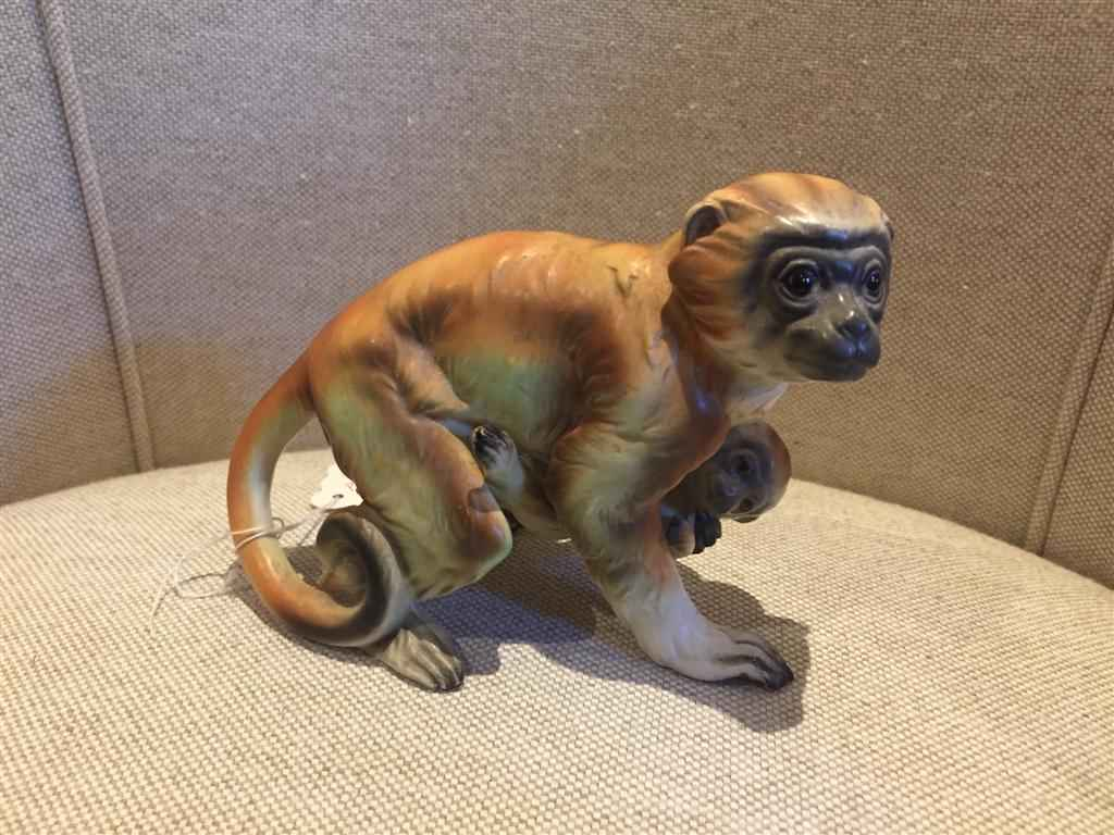 Porcelain Monkey and ... by  Japanese  - Masterpiece Online