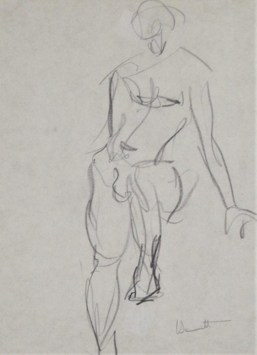 Title Unknown (figure... by  Eugene Bennett - Masterpiece Online