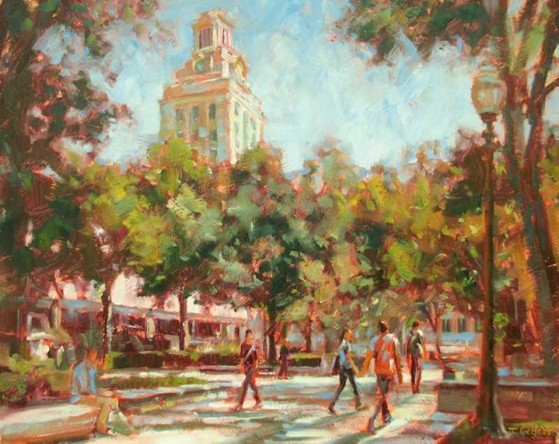 West Mall, University... by Mrs Judy Gelfert - Masterpiece Online