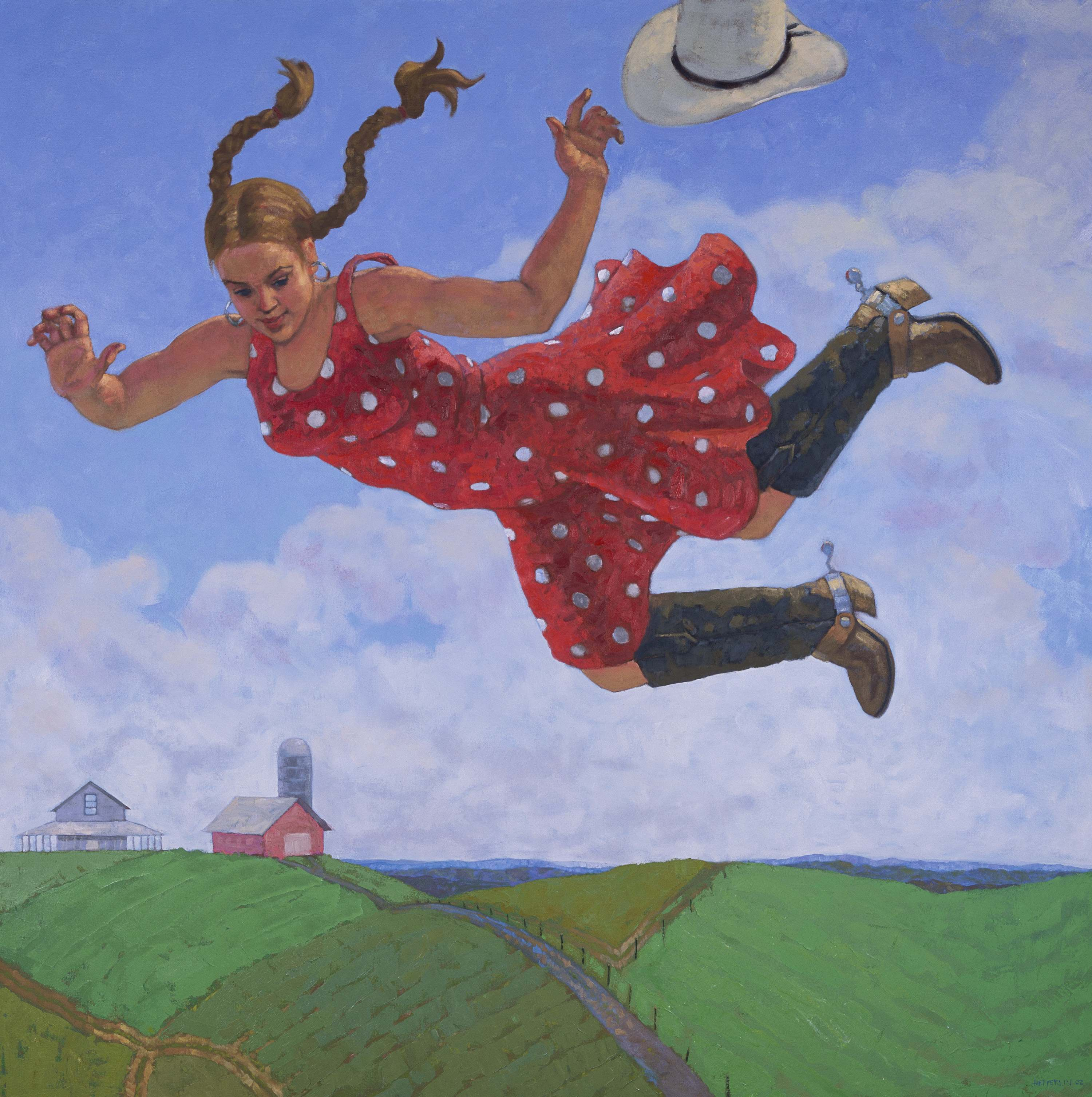 Farm Flight by  Melissa Hefferlin - Masterpiece Online