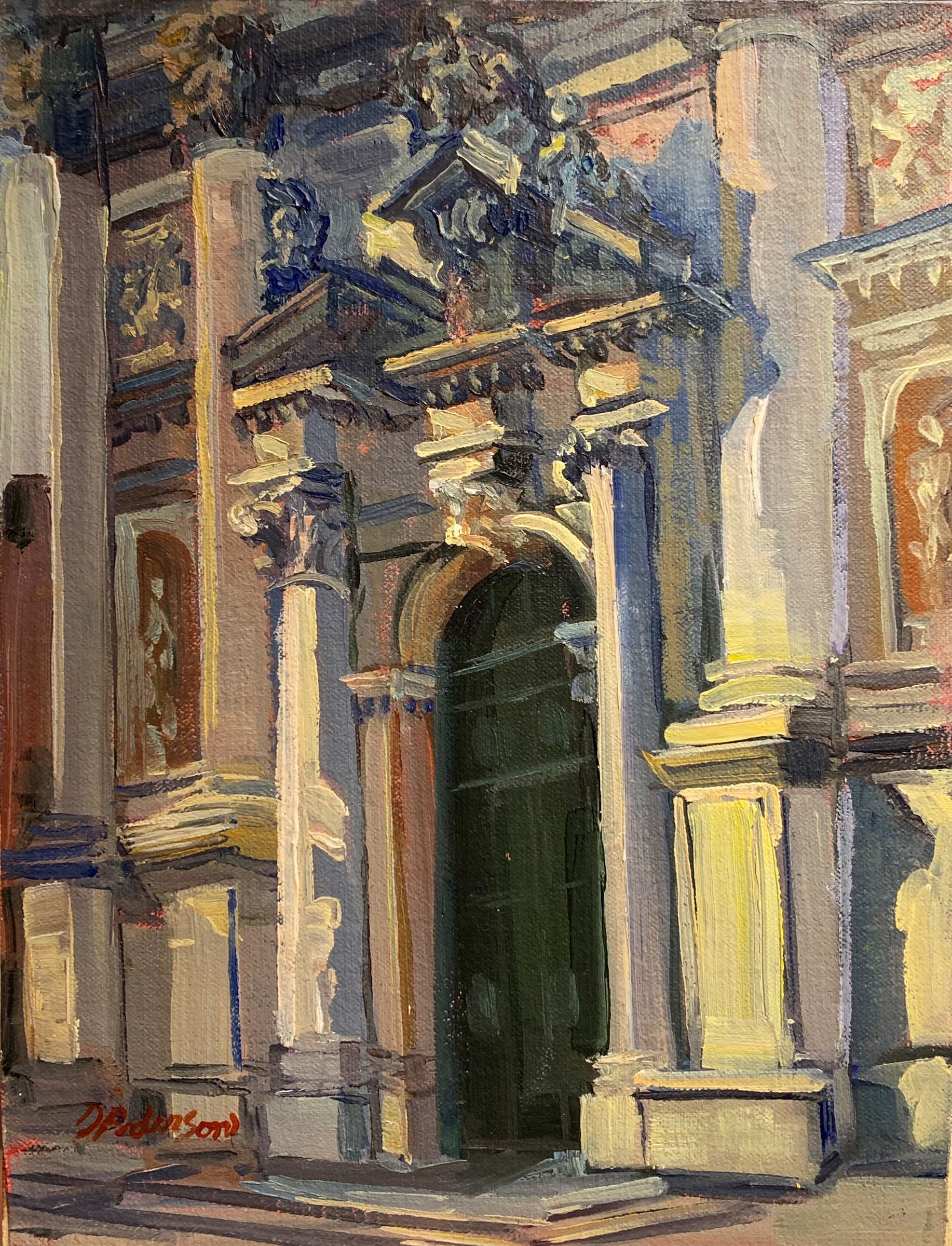 Church of St. Stae, V... by  Doloris Pederson - Masterpiece Online