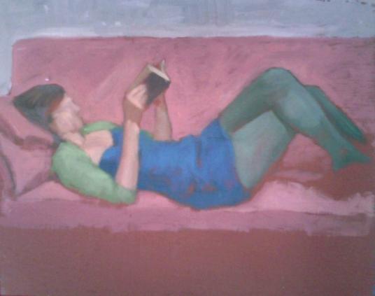 Katie Reading by  Melissa Hefferlin - Masterpiece Online