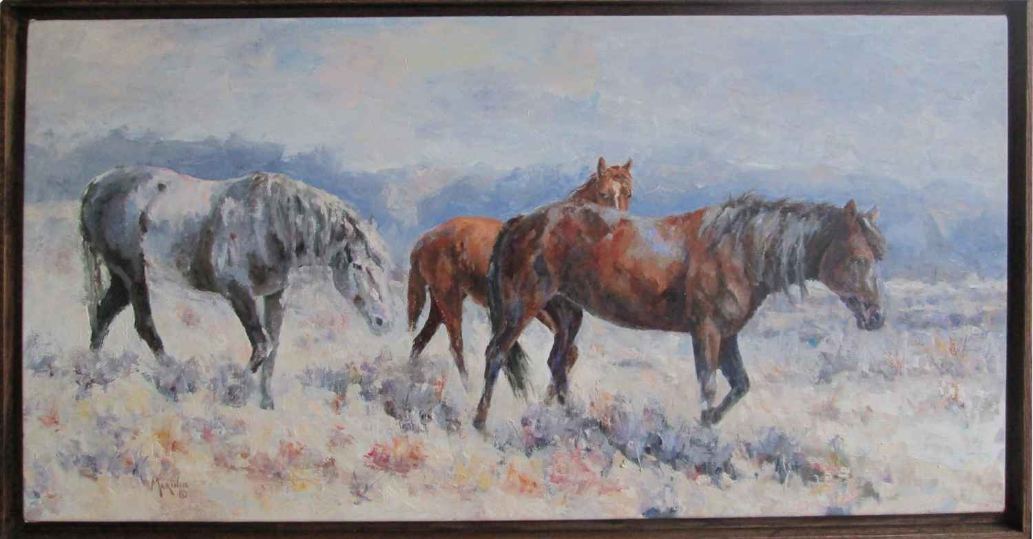 Wyoming Natives by  Donnie Marincic - Masterpiece Online