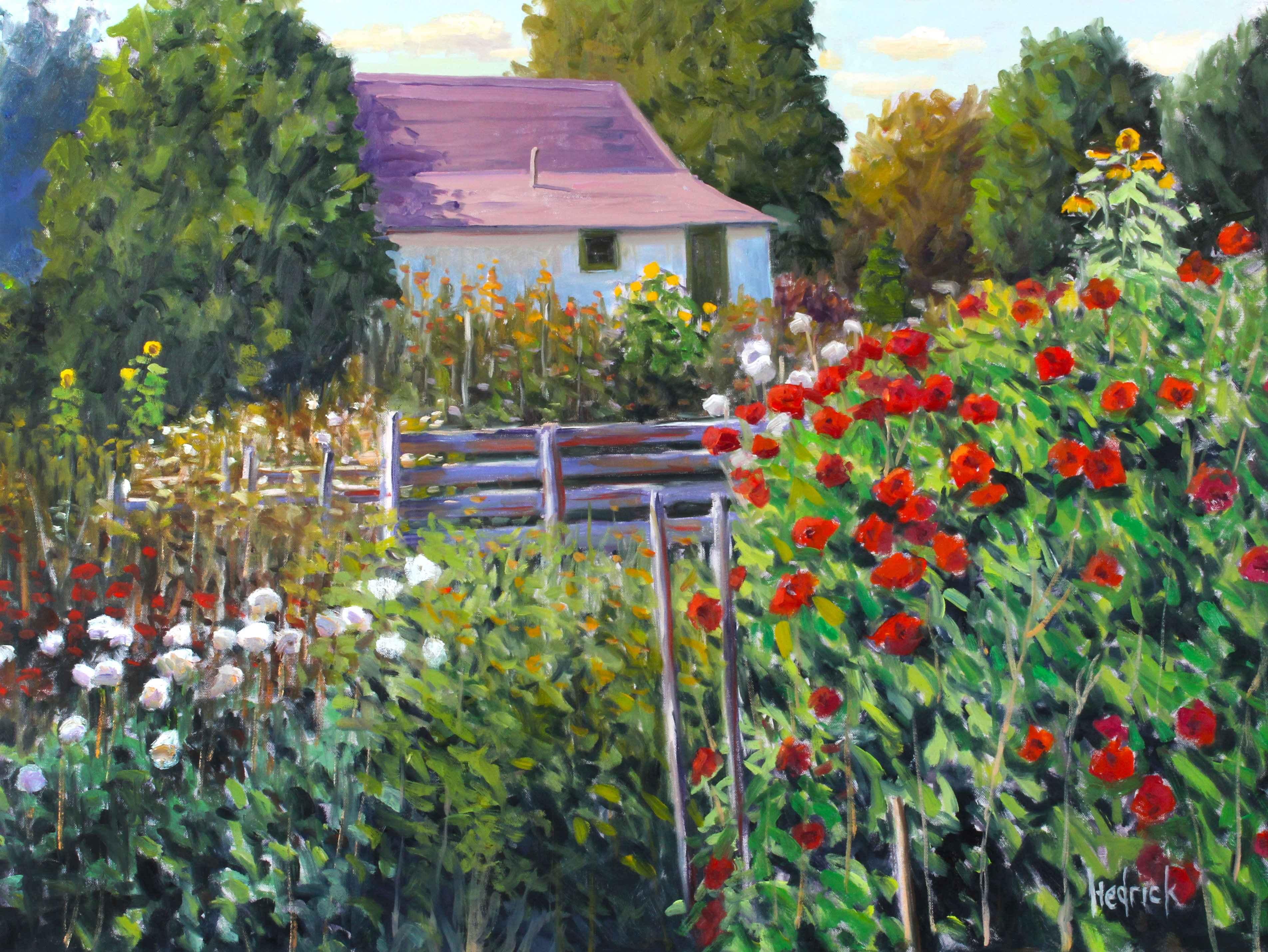Richmond Garden  by  Ron Hedrick