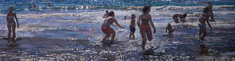 Beach Games by  Daud Akhriev - Masterpiece Online