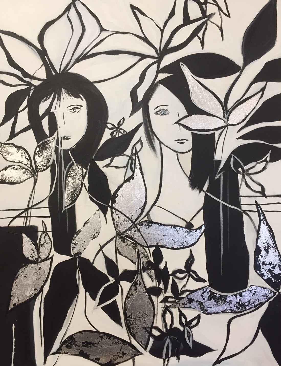 Cafe Girls in Paris by  Steve Lyons - Masterpiece Online