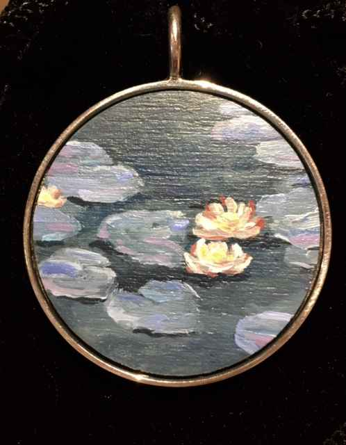 #10 Lg-Cir - Lily Pads by  Nell Mercier - Masterpiece Online