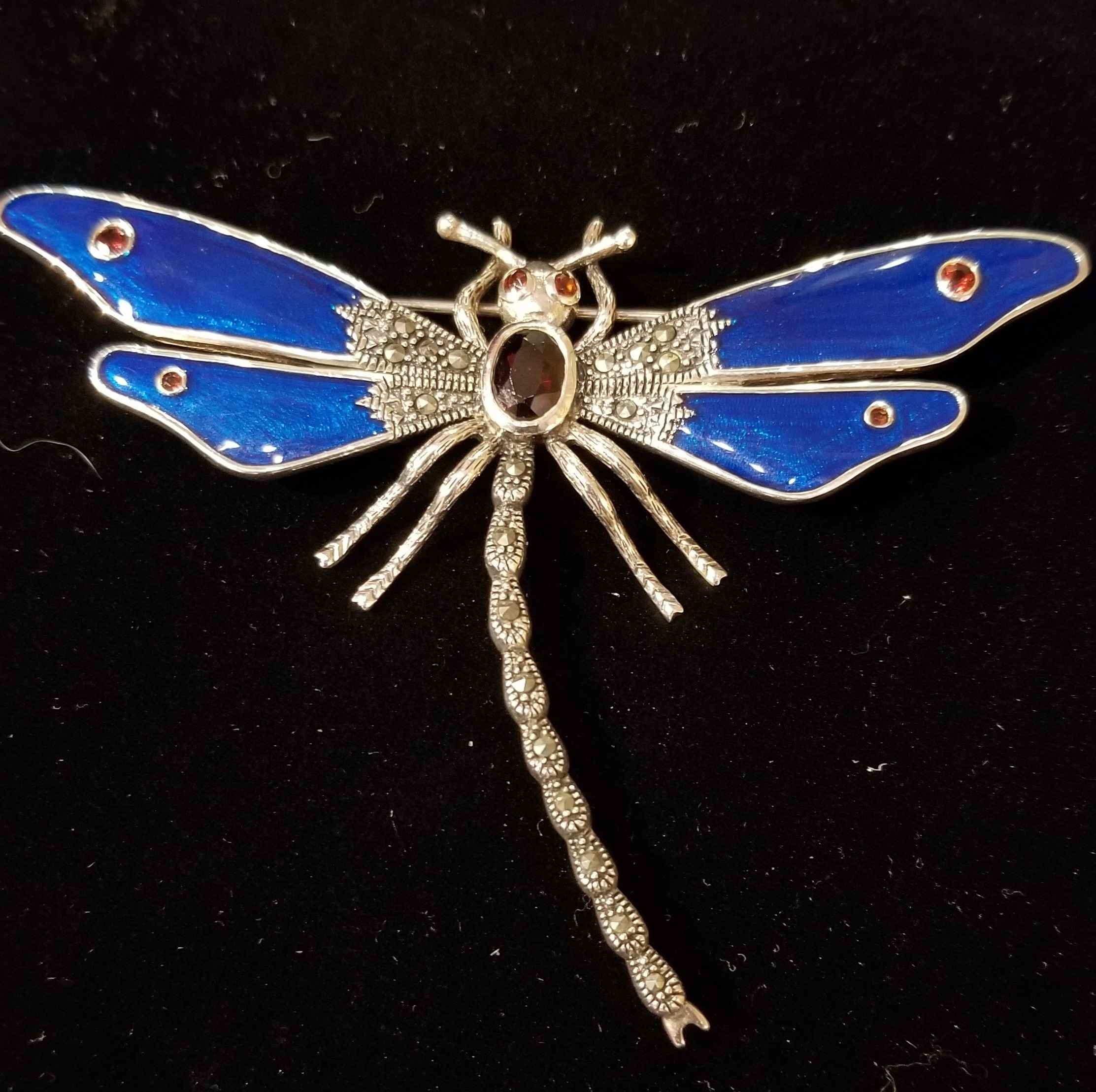 Pin - Dragonfly w/Gar... by  Gallery Pieces - Masterpiece Online