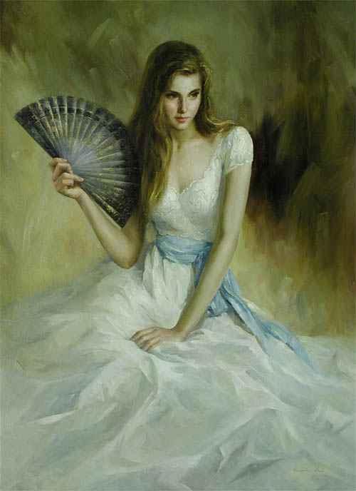 The Oriental Fan by  Kelvin  Lei - Masterpiece Online