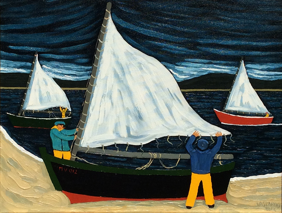 Unfurling The Sail by  Claudio Gasparini - Masterpiece Online