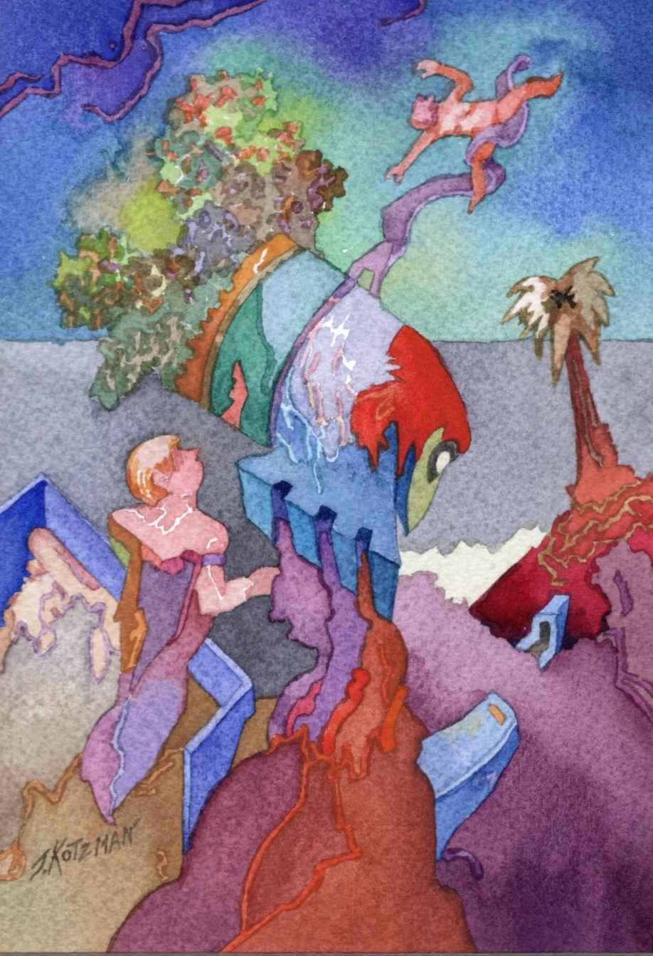 Caught in the Updraft by  Joe Kotzman - Masterpiece Online
