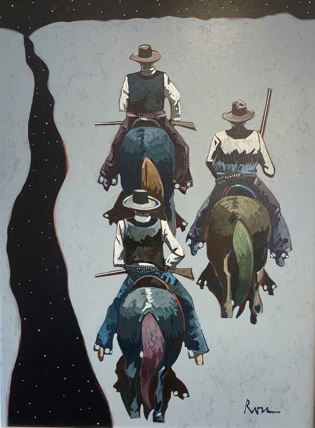 Along the Pecos by  Thom Ross - Masterpiece Online