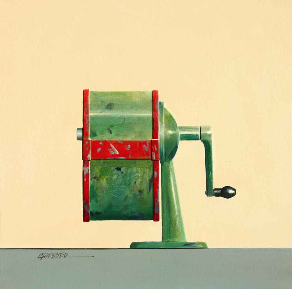 Pencil Sharpener represented  by  Wendy Chidester