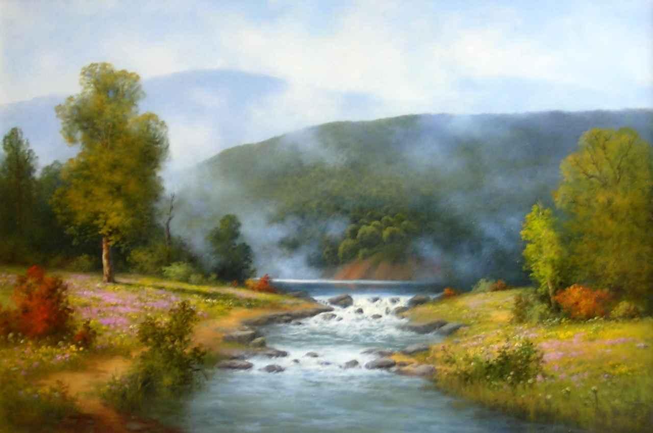Rivers Bend by Mrs Milbie Benge - Masterpiece Online