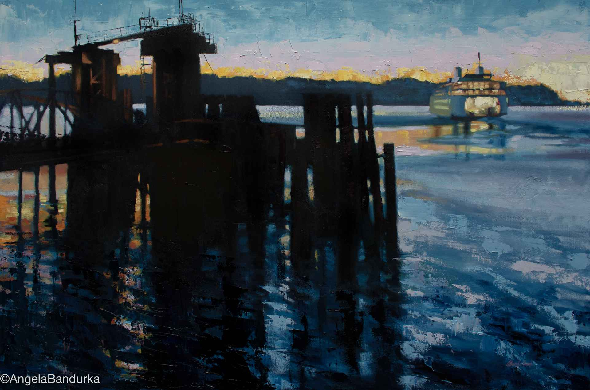 Evening Passage by  Angela Bandurka - Masterpiece Online