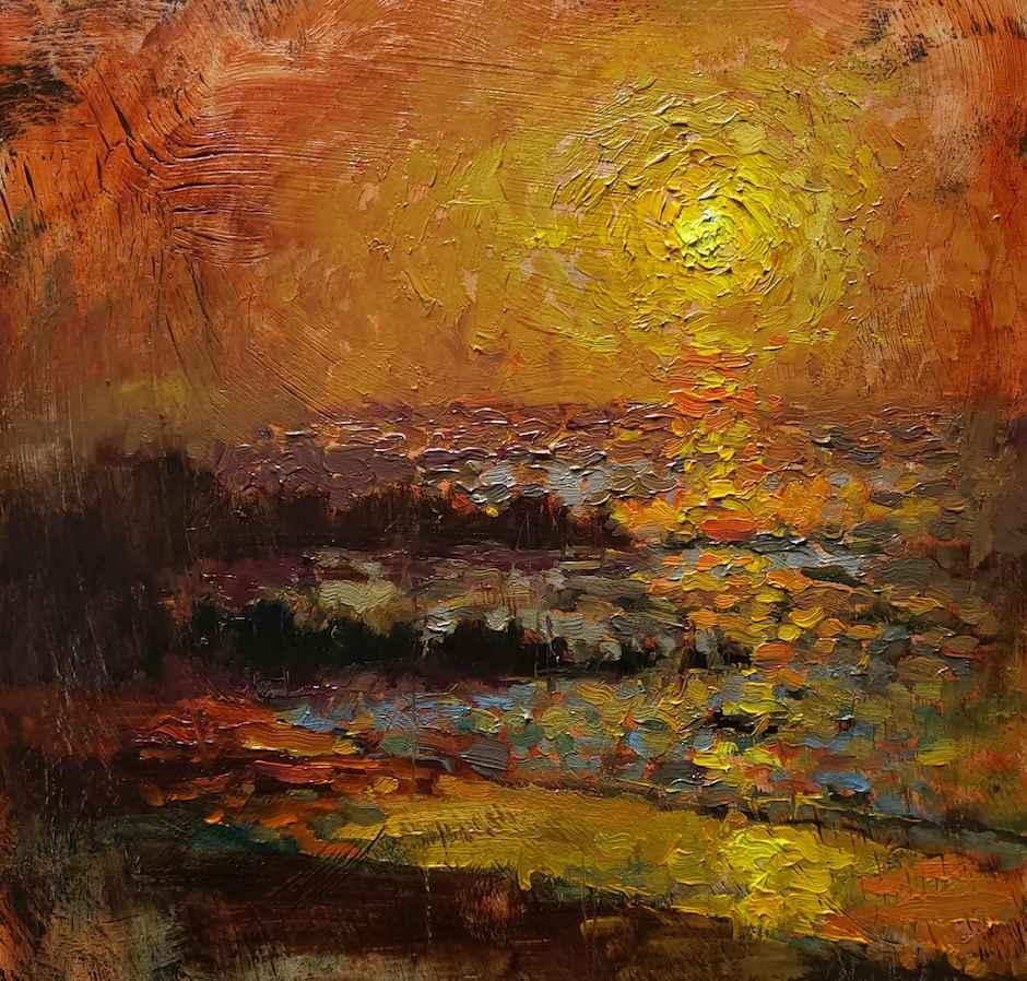 Thousand $ Sunset by Mr. Glen Hawkins - Masterpiece Online